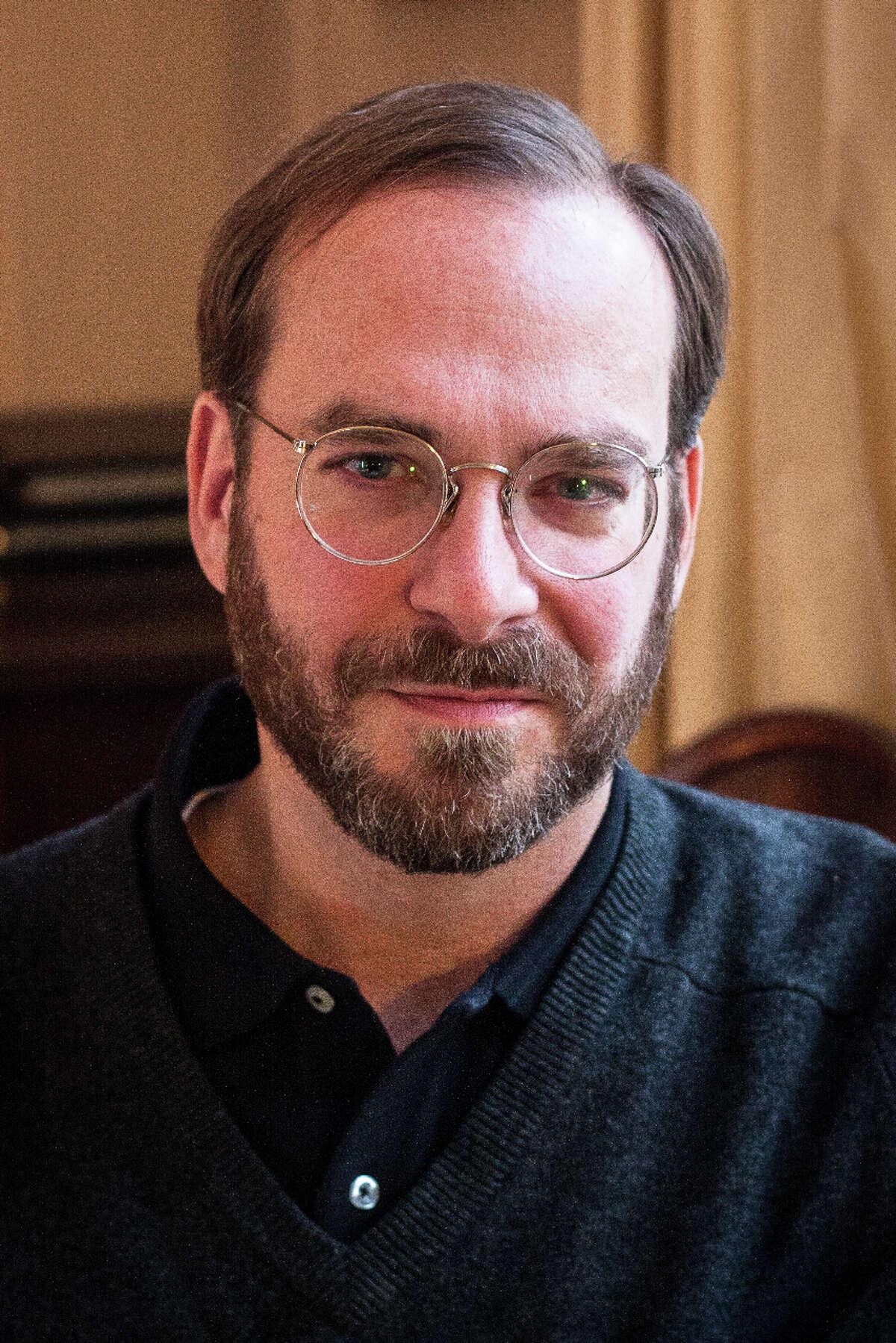 David Yezzi, poet and Capital Region native. (Preston Merchant)