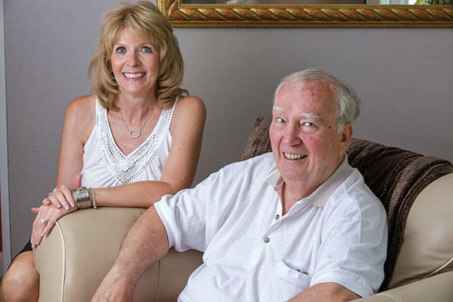 Linda and James Livingstone in their home on Friday July 12, 2013 in Rexford, NY. (Philip Kamrass/ For Life @ Home Magazine) Photo: Philip Kamrass, Philip Kamrass 2013 / Philip Kamrass 2013