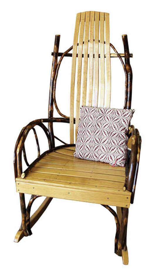 Amish Bent Willow Rocker Woodworking at its finest, by artist Sam Byler. $210 at the Gallery of New York Folk Art.