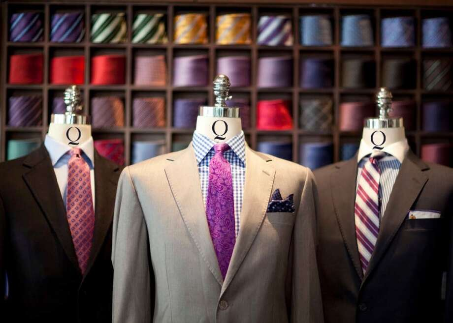 Q CUSTOM CLOTHIER & RYE 51Here, you get two great menswear stores side by side. First, Q Custom Clothier offers luxury suits, slacks, sport coats and shirts by Loro Piana, Holland & Sherry and more. Then, just next door is Q's younger brother, Rye 51, which pairs menswear and whiskey in a hip spot. Browse the assortment of cool shirts, premium denim, shoes and other casual wear. Q Custom Clothier: 2800 Kirby, Suite B-124, 713-523-8333; qcustomclothier.com. Rye 51: 2800 Kirby Suite B124, 713-523-8222; rye51.com. Photo: Q Custom Clothier