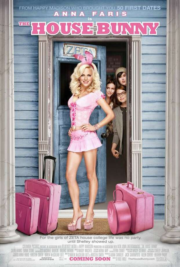 12. The House Bunny – 2008 Anna Faris can be hit or miss, but she's the former in this formulaic comedy about sorority life. It's not going to make you any smarter, but it's sure to produce a few chuckles. Plus, helloooo Emma Stone! Photo: Columbia Pictures