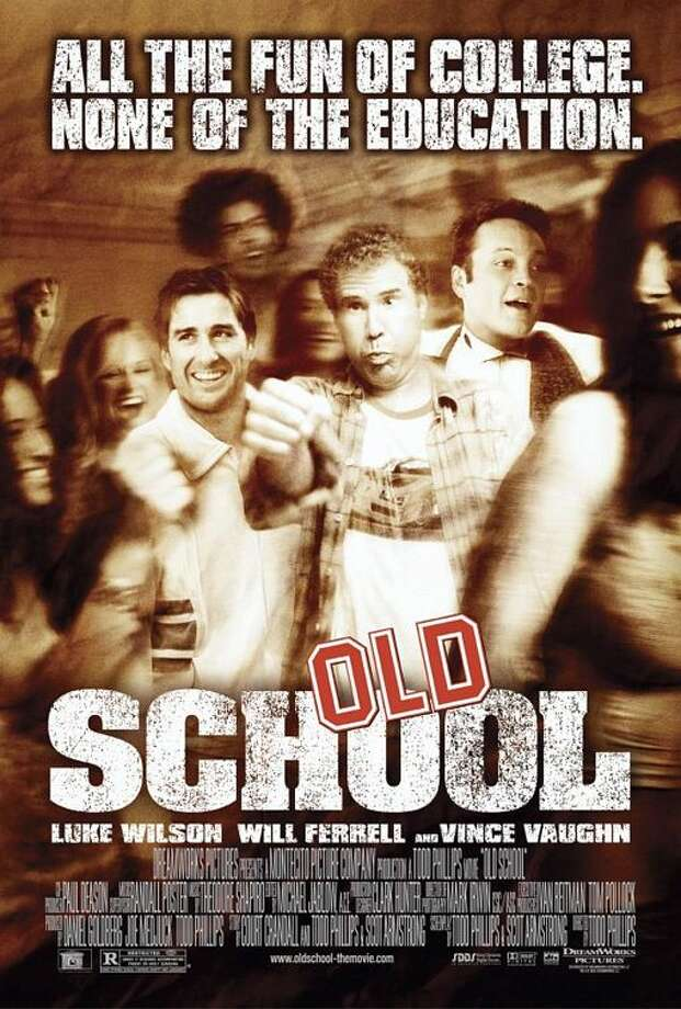 5. Old School – 2003Grown men re-discovering their youth. What can go wrong there? Everything, which is why it's one of the greatest comedies of the 2000s. Drunken antics, fraternity hazing and everyone's boy, Blue. It will go down as a classic. Photo: DreamWorks Pictures