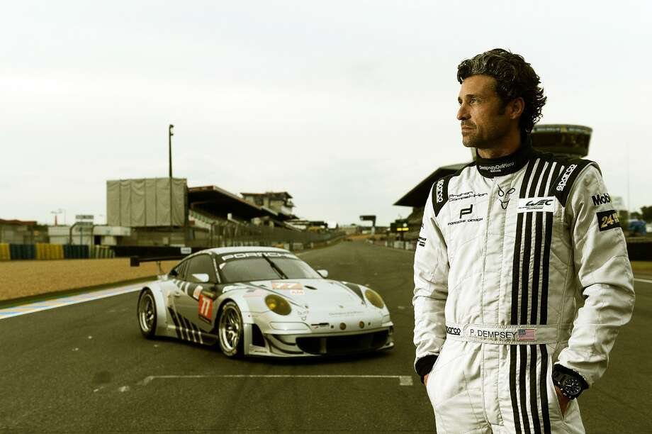 Patrick Dempsey, known best as Dr. 'McDreamy' on 'Grey's Anatomy,' dives into his other passion, race car driving, in 'Racing Le Mans.' Photo: Velocity