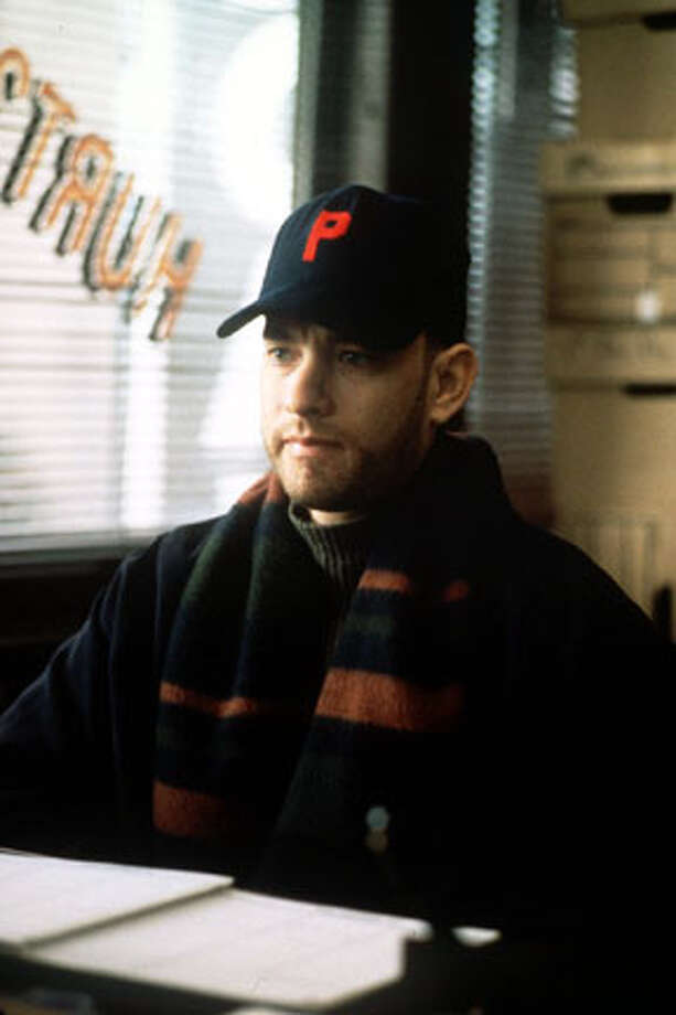 "Tom Hanks as Andrew Beckett in ""Philadelphia"" – Previously only known for his comedic roles, Hanks won his first Oscar for this dramatic role as a gay man dying of AIDS."