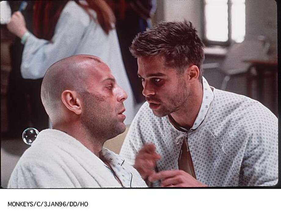 "Brad Pitt as Jeffrey Goines in ""12 Monkeys""  – So you want to take Hollywood's hunkiest actor at the time, turn him crazy, mess up his face and make him spend half the film in a psych ward hospital gown?"