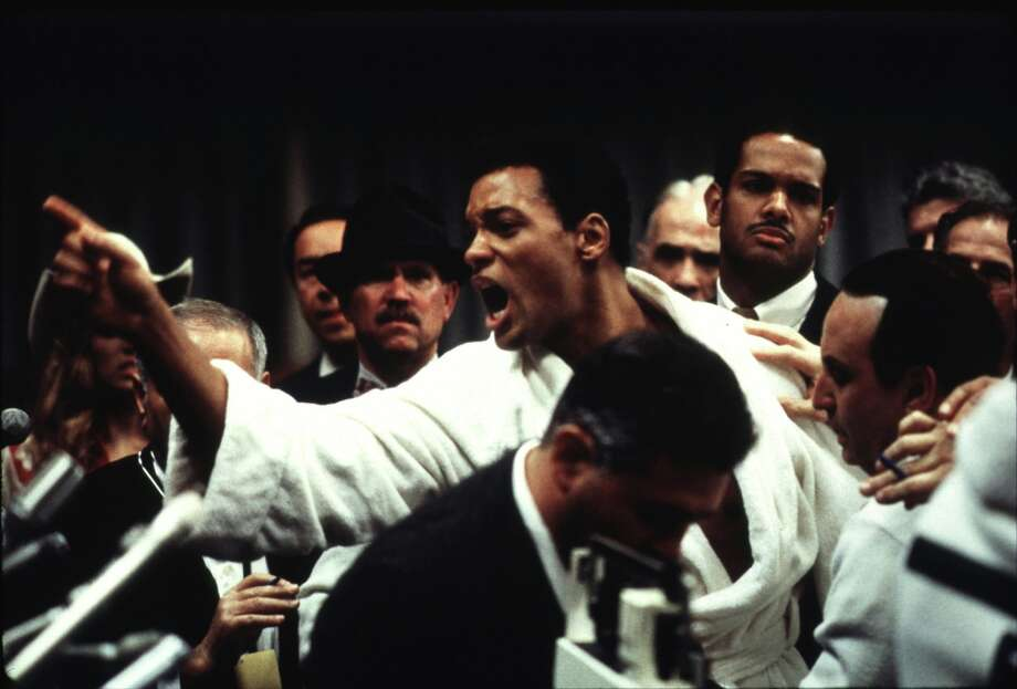 "Will Smith as Muhammad Ali in ""Ali"" – Smith was already a bonafide action star, so audiences knew he could handle the physicality of the role. What he had yet to show in earlier roles was his range as a dramatic actor. Photo: HO, REUTERS / X00561"