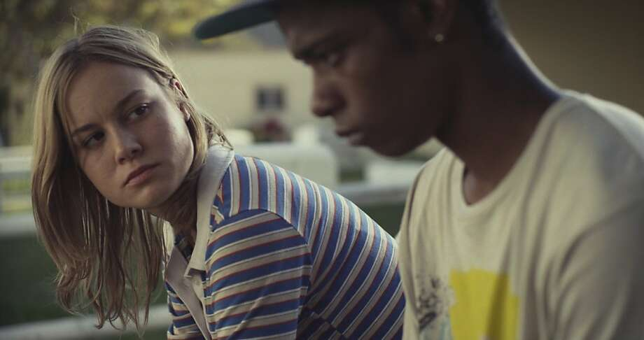 Brie Larson as Grace and Keith Stanfield as Marcus in the film Short Term 12. Photo credit: Brett Pawlak Courtesy of: Cinedigm Photo: Brett Pawlak, Cinedigm