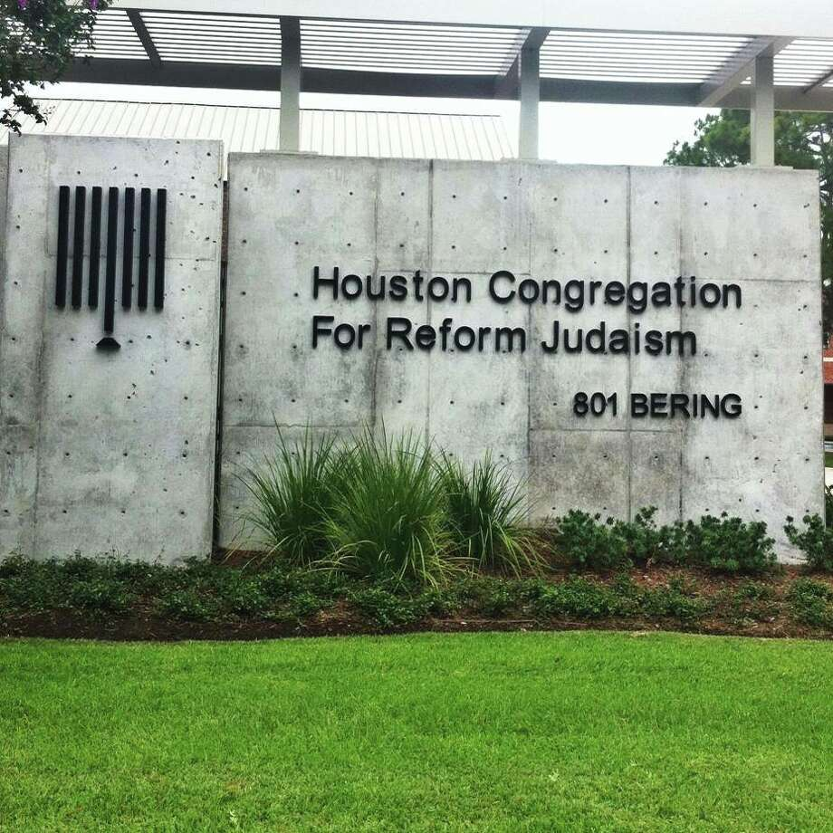 The Houston Congregation for Reform Judaism is at 801 Bering Drive, Houston. Photo: Photo By Houston Congregation For Reform Judaism
