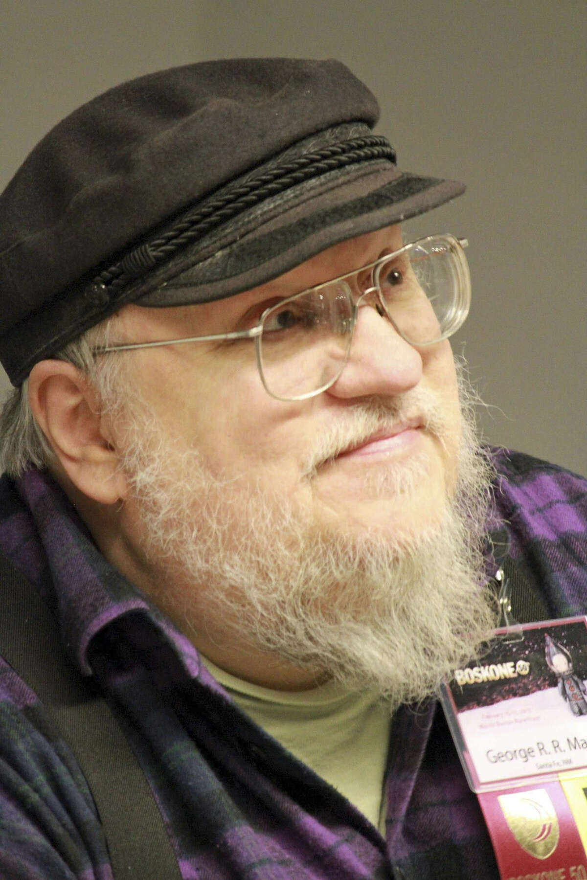 Fantasy novelist George R.R. Martin will be at Worldcon.