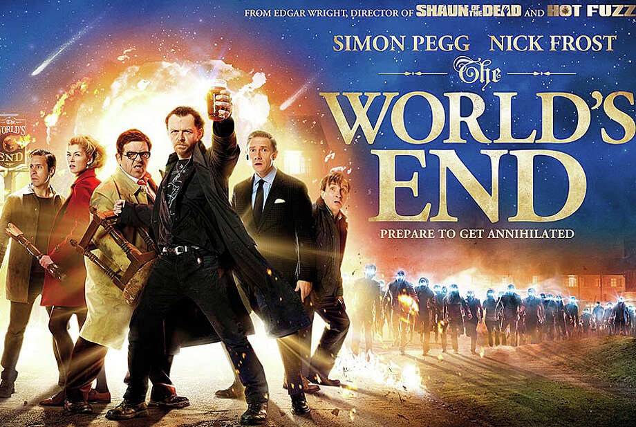"""The World's End,"" the final installment in a trilogy of British-made comedies, is now playing in area movie theaters. Photo: Contributed Photo / Westport News contributed"