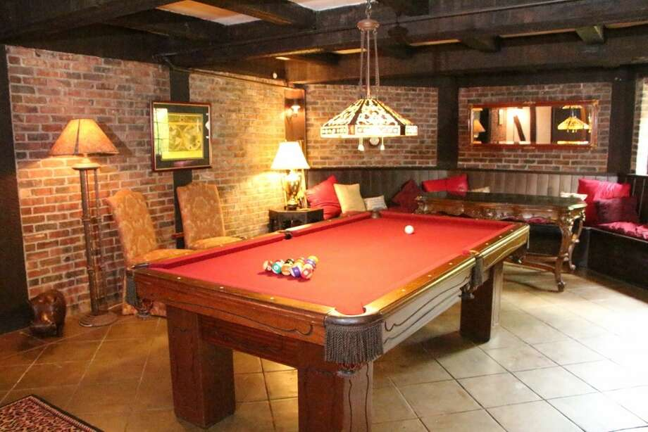 Game room of 7326 Bowlyn Place S. It's listed for $7.2 million. Photo: Courtesy Brad Vancour, Realogics Sotheby's International Realty