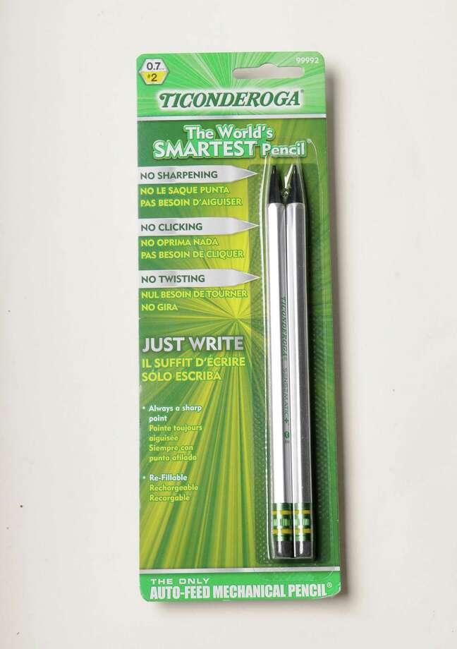 Ticonderoga Pencil Thursday, Aug. 8, 2013, in Colonie, N.Y. (Will Waldron/Times Union) Photo: WW / 00023468A