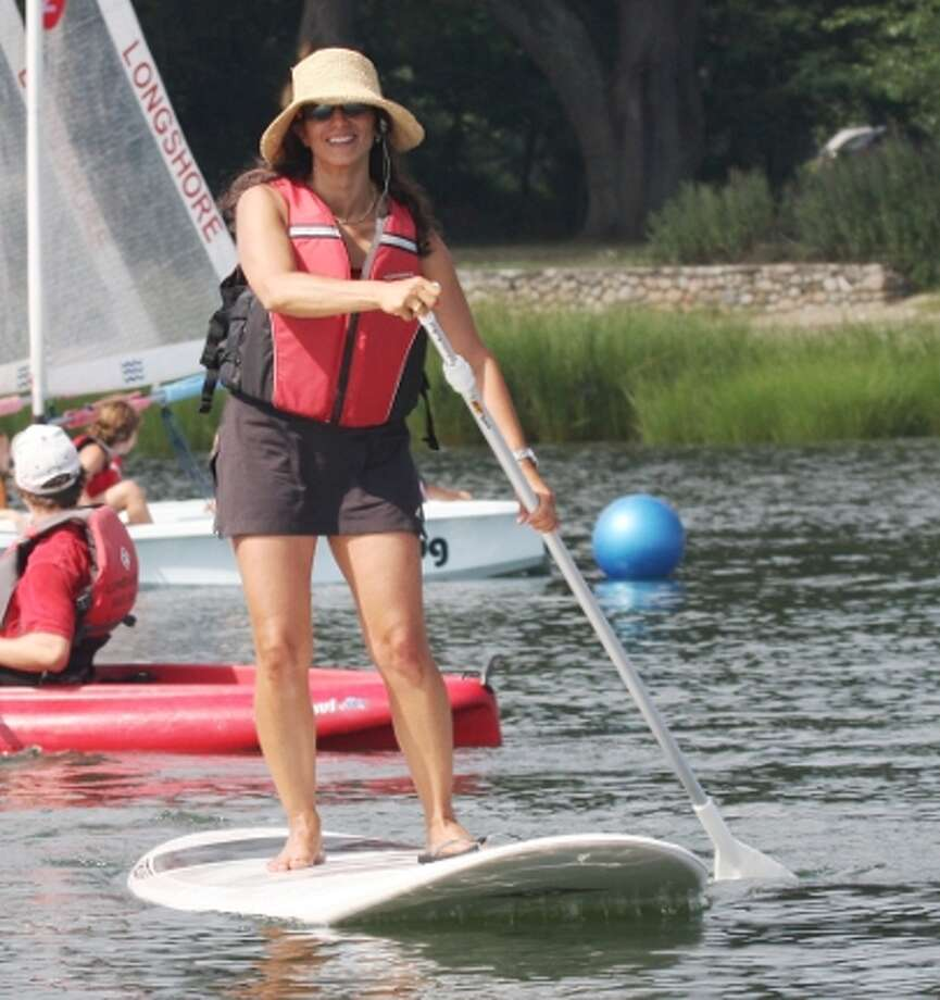 Don't Sail? Paddleboard instead Photo: Longshore Sailing School, 2013