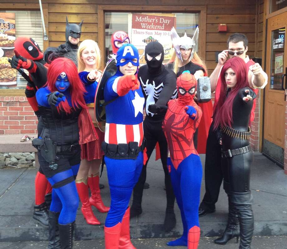 Superheroes unite! Connecticut Comiconn swoops into the Marriot Hotel in Trumbull on Saturday, Aug. 24. Photo: Contributed Photo