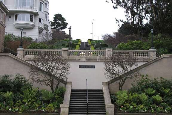 Location: Lyon Street, Marina district, S.F. Site: Lyon Street steps