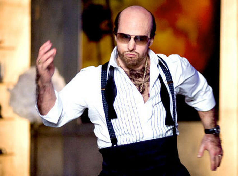 "Tom Cruise as Les Grossman in ""Tropic Thunder"" – Not a lot of directors would have had the courage to take one of Hollywood's most handsome actors of all time, put him in a fat suit, make him bald and cover him in man fur. The result was comic genius, though."