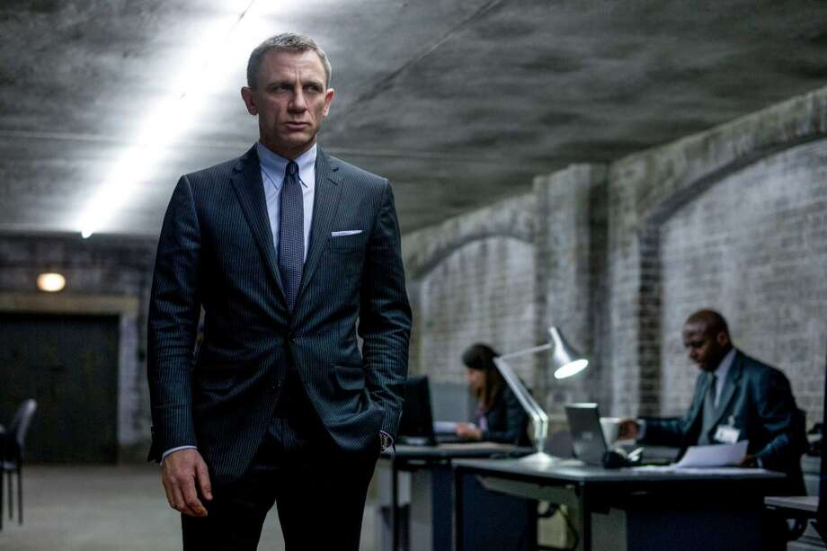 Daniel Craig as James Bond – Craig wasn't traditionally good-looking or charming the way the Bonds of the '80s and '90s had been. Photo: Francois Duhamel, Associated Press