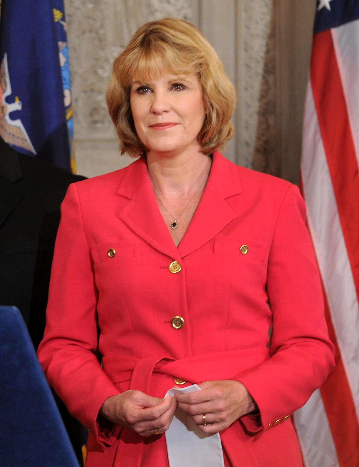 Sen. Cathy Young, R-Olean, Tuesday, Oct. 3, 2012, at the Capitol in Albany, N.Y. (Cindy Schultz / Times Union archive)