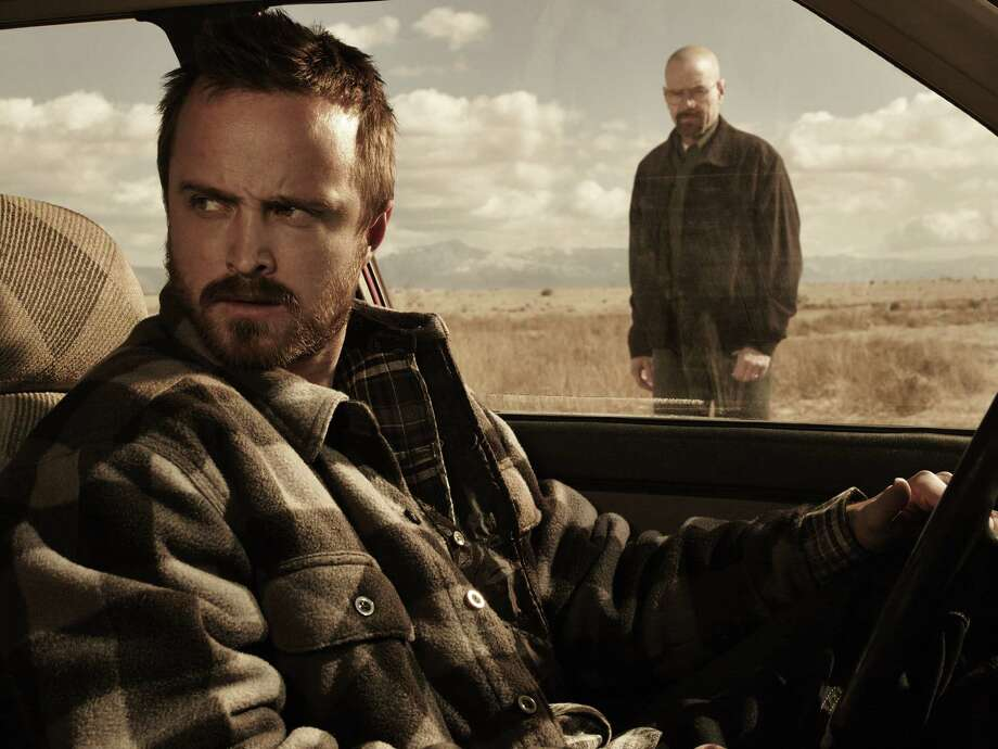 'Breaking Bad' is wrapping up the drug saga of Jesse and Walt, each of whom is on his own spiritual trajectory, while some viewers might be waiting for characters who will be redeemed at the end. Photo: AMC