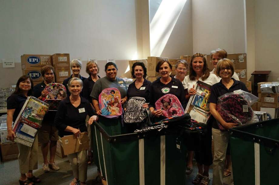 Interfaith of the Woodlands has donated school supplies to local children. Photo: Provided By Interfaith Of The Woodlands