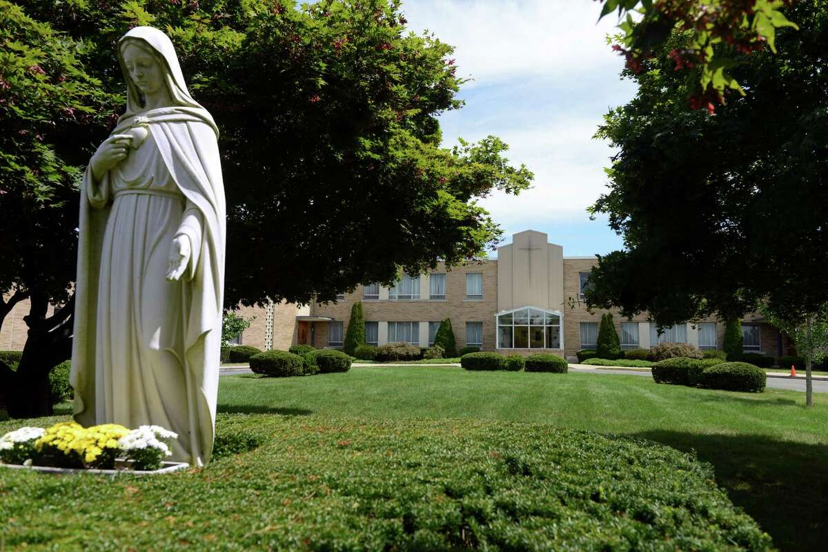 Monroe castle owner John Kimball filed a proposal Thursday, Aug. 22, 2013 to build a new convent for the Sisters of the Holy Family of Nazareth and remove the current building at 1428 Monroe Turnpike in Monroe, Conn.