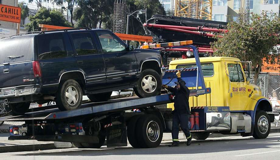 5. Tow TrucksCustomer cursing: 1 in every 159 conversations. Photo: Mathew Sumner, Special To The Chronicle