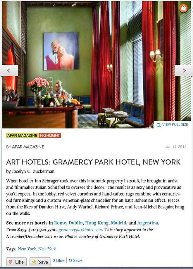 AFAR.com for travel info Photo: Afar.com
