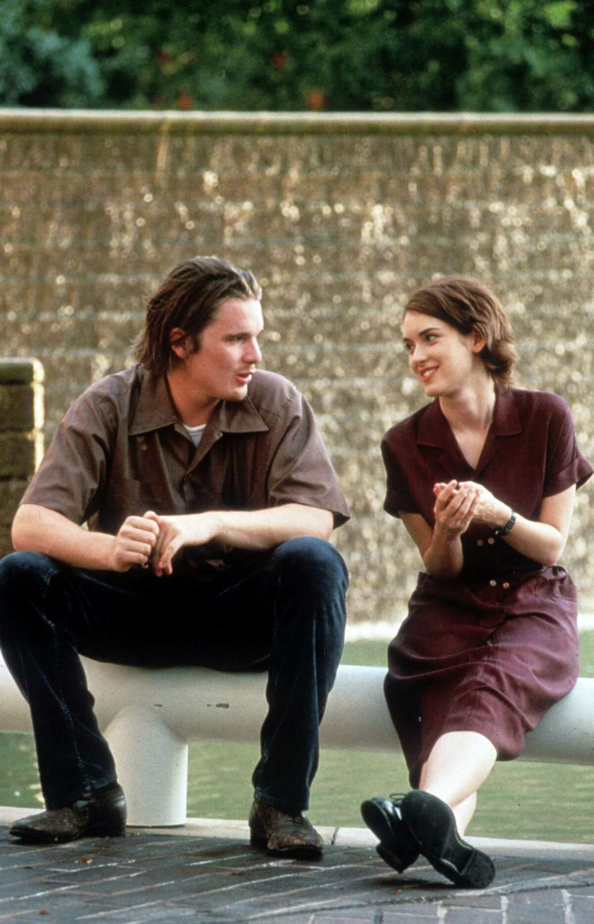Ethan Hawke starred with Winona Ryder in the successful film 'Reality Bites' in 1994.