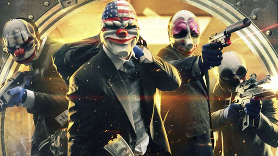"Fast-paced action infused with criminal panache and first-person shooter sophistication will leave the player topping the FBI's most wanted list in no time in ""Payday 2."" Photo: Photos Courtesy Of 505 Games"