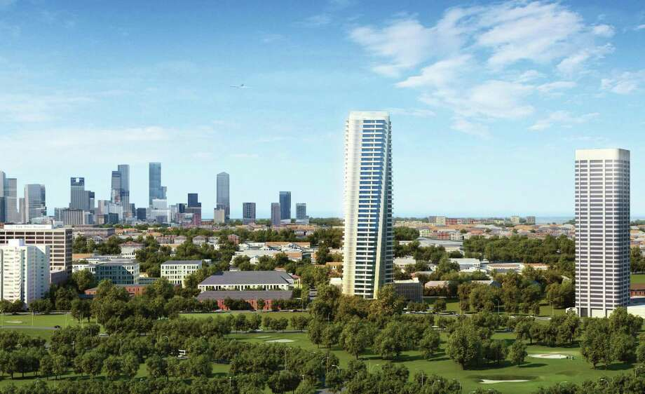 The 42-story Tower at Hermann Place will break ground in fall 2013 and be completed by spring 2015. Photo: Tema Development