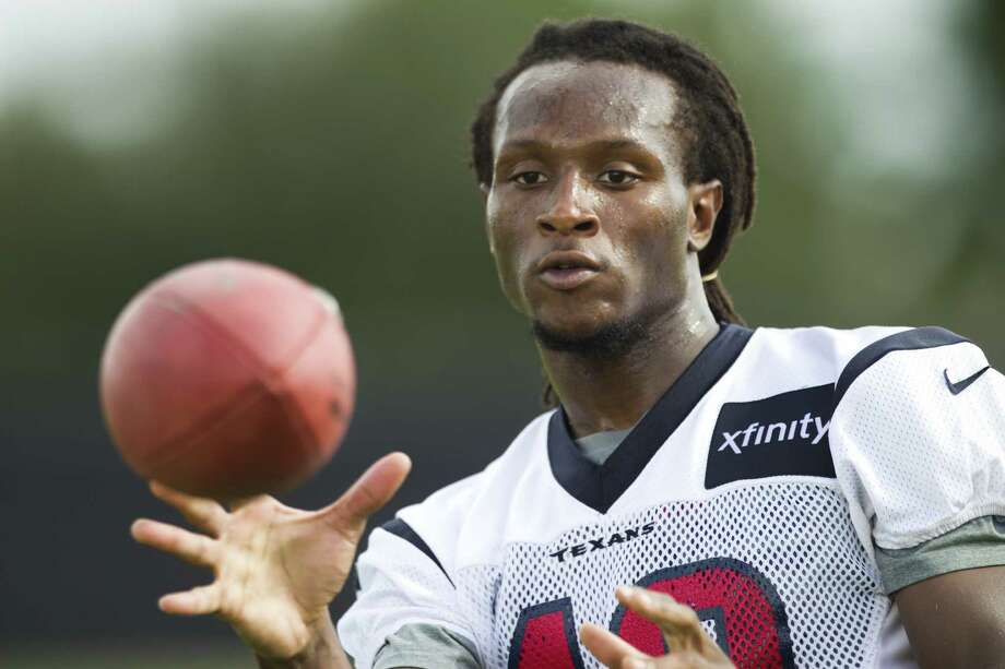 First-round draft pick DeAndre Hopkins has been the perfect complement to Andre Johnson.