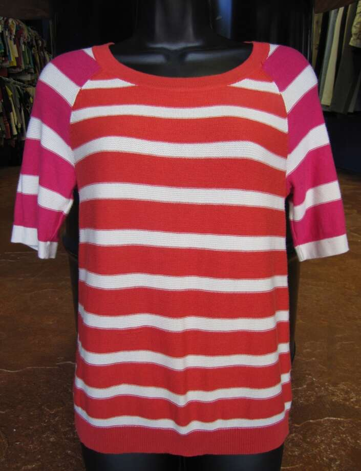 Striped sweater, Cooperative, $6.99, Company E2, Beaumont Photo: Cat5