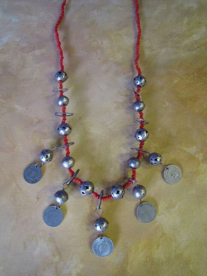 Beaded coin necklace, $5.99, Company E2, Beaumont Photo: Cat5