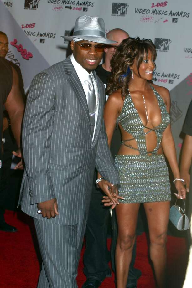 50 Cent and Viveca A. Fox briefly dated in 2003. Photo: Vinnie Zuffante, Getty Images