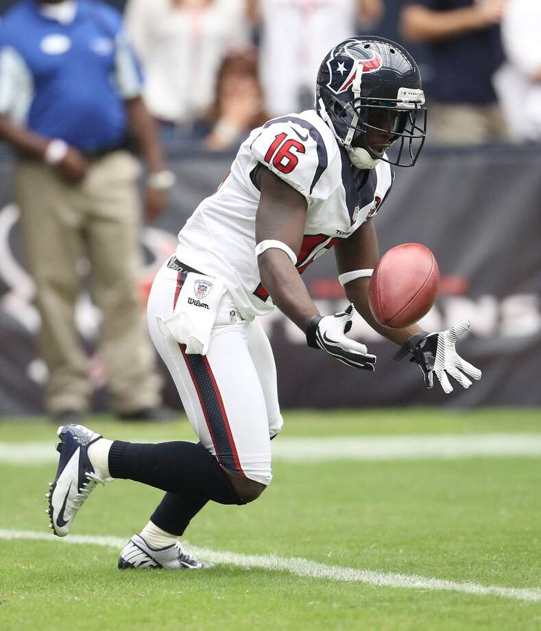 16  Trindon Holliday, WR, 2010-2012 Photo: Karen Warren, Houston Chronicle
