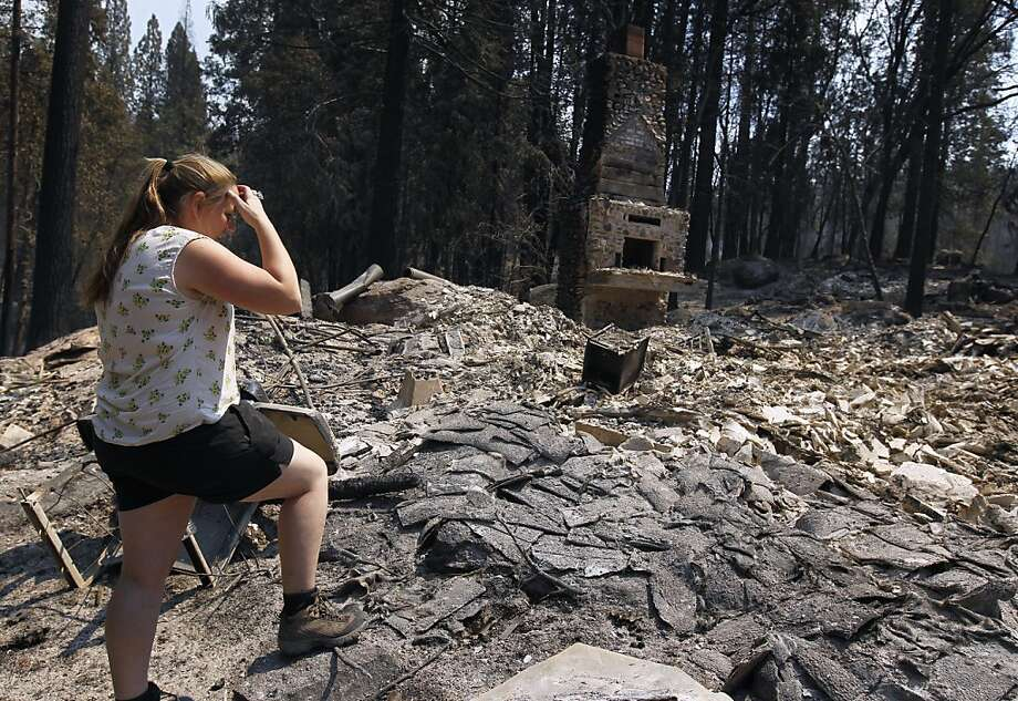 The Federal Emergency Management Agency said the state's third-largest wildfire was not severe enough to merit federal disaster status. Photo: Paul Chinn, The Chronicle