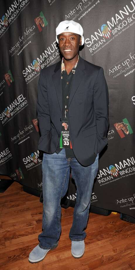 HIGHLAND, CA - MAY 08:  Don Cheadle attends Ante Up For Africa with proceeds going to the Not On Our Watch Project at the San Manuel Casino on May 8, 2008 in Highland, California.  (Photo by John M. Heller/Getty Images) Photo: John M. Heller, Getty Images