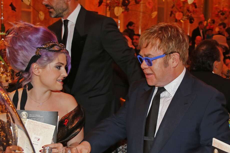 VIENNA, AUSTRIA - MAY 25:  Kelly Osbourne and Sir Elton John attend the 'AIDS Solidarity Gala 2013' at Hofburg Vienna on May 25, 2013 in Vienna, Austria.  (Photo by Thomas Niedermueller/Life Ball 2013/Getty Images) Photo: Thomas Niedermueller/Life Ball 2, Getty Images
