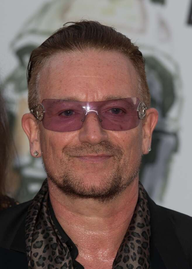 MONACO - JULY 27:  Bono attends the 'Love Ball' hosted by Natalia Vodianova in aid of the Naked Heart Foundation at Opera Garnier on July 27, 2013 in Monaco, Monaco.  In 2004, Bono's organization DATA (debt, AIDS, trade, Africa) helped to form One -- an organization that seeks to make poverty history. (Photo by Didier Baverel/WireImage) Photo: Didier Baverel, WireImage