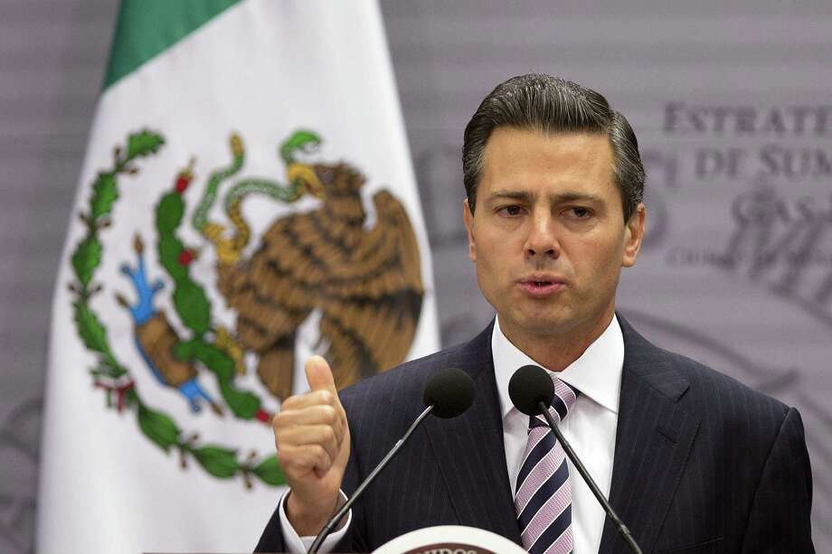 Mexican President Enrique Peña Nieto is pushing for an education overhaul but meeting resistance. Photo: Susana Gonzalez / Bloomberg