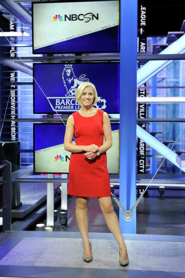NBC Sports Network Premier League host Rebecca Lowe. Photo: NBC, Virginia Sherwood/NBC Sports / Stamford Advocate Contributed