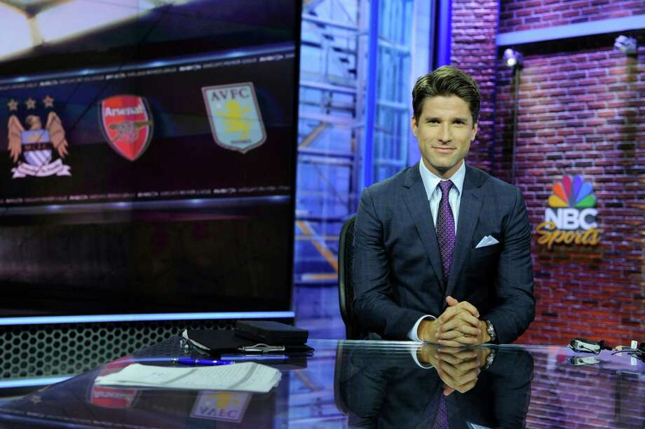 NBC Sports Premier League analyst Kyle Martino, a Westport native. Photo: NBC, Virginia Sherwood/NBC Sports / Stamford Advocate Contributed
