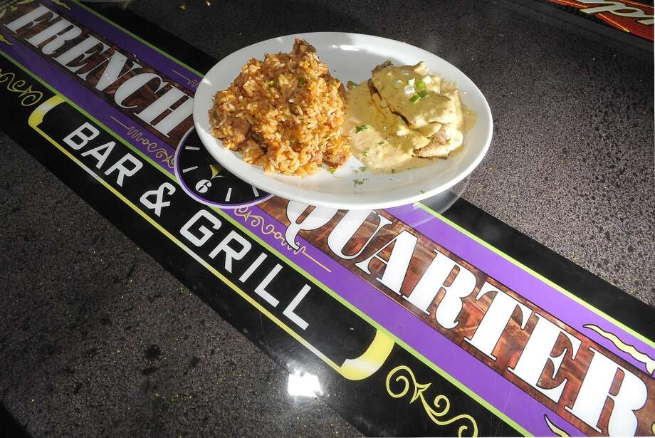 French Quarter Bar & Grill in Vidor is Aug. 22 restaurant of the week.  This is the stuffed chicken platter. Dave Ryan/The Enterprise Photo: Dave Ryan/The Enterprise