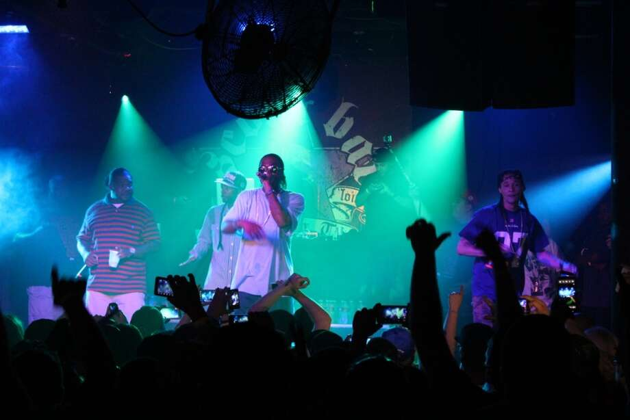 Bone Thugs N Harmony: This hip-hop group will perform at Scout Bar on Saturday, Deb. 15. Doors open at 8 p.m., show starts at 9 p.m. scoutbar.com Photo: Jorge Valdez