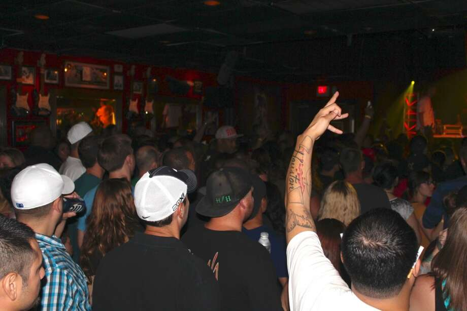Bone Thugs N Harmony wow the crowd Friday night, Aug. 23, 2013, at Scout Bar. Photo: Jorge Valdez