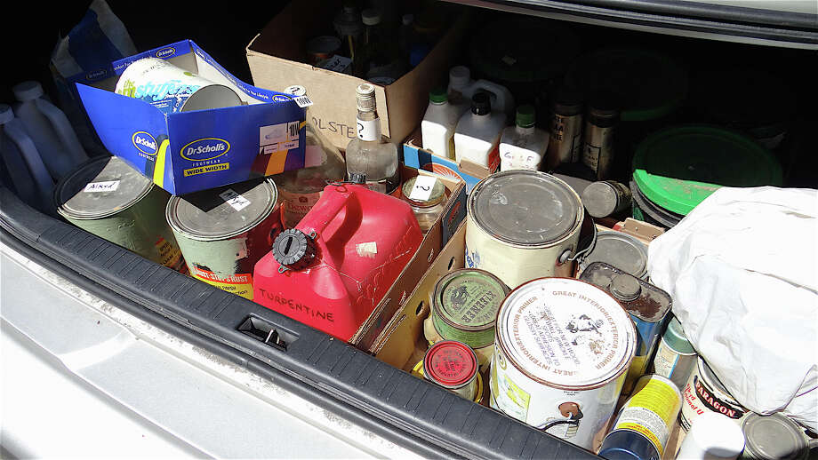 It's spring cleaning time. Delivery day for your waste items is Saturday at the Greenwich High School parking lot on Hillside Road on, from 8 a.m. to 1 p.m. Find out more.  Photo: Mike Lauterborn / Fairfield Citizen contributed