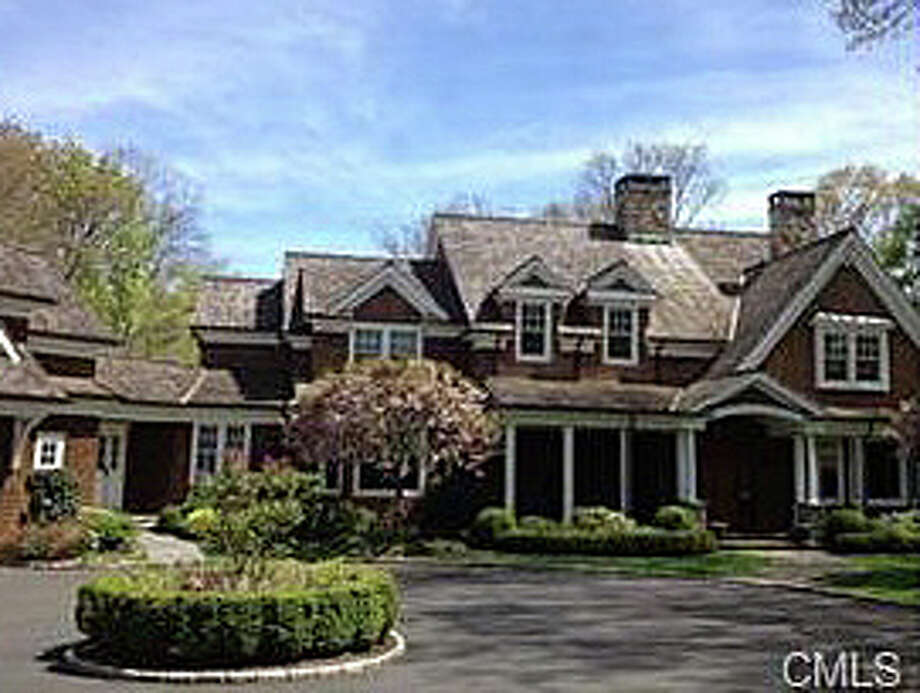 The house 10 Green Acre Lane was recently sold for $3,335,000. Photo: Contributed Photo / Westport News contributed