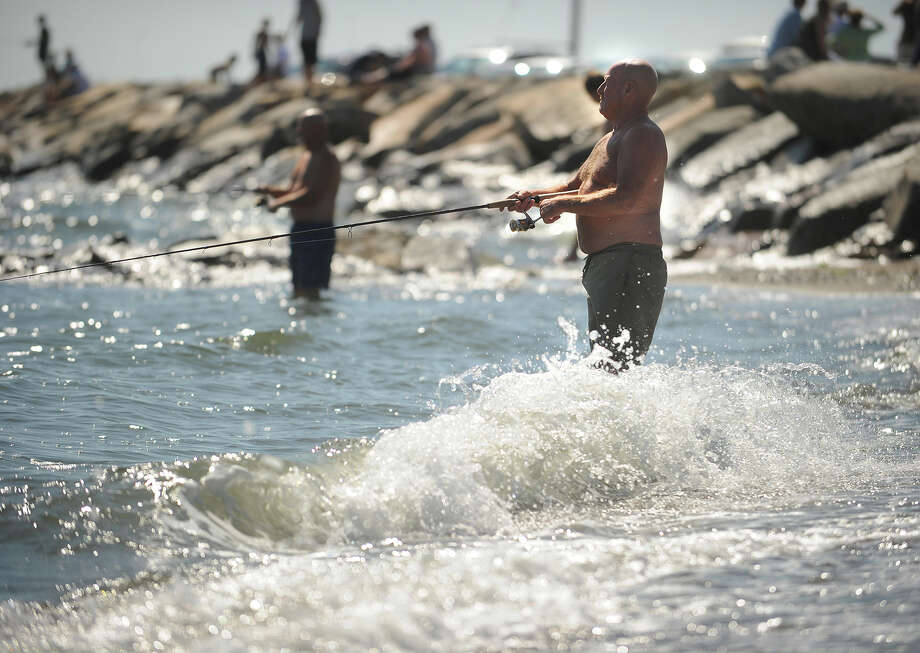 If dad likes to dish, the state has some good news. The Department of Energy and Environmental Protection will issue free fishing licenses this Sunday for Father's Day. Find out more.  Photo: Brian A. Pounds / Connecticut Post