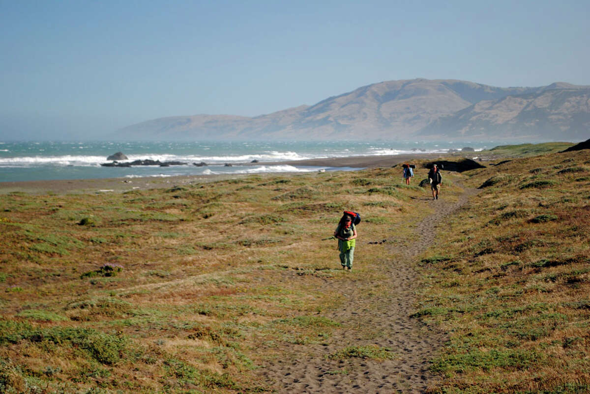 Mattole Beach near Patrolia, California. USGS reported 10 earthquakes off the coast of Petrolia on Saturday and Sunday.