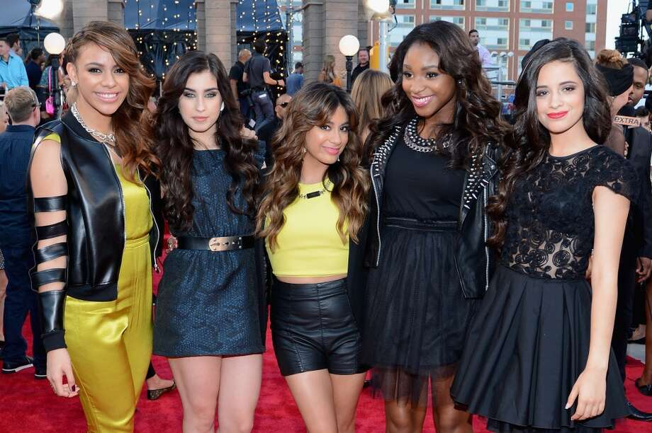 (L-R) Dinah Jane Hansen, Lauren Jauregui, Ally Brooke, Normani Kordei and Camila Cabello of Fifth Harmony attend the 2013 MTV Video Music Awards at the Barclays Center on August 25, 2013 in the Brooklyn borough of New York City.  (Photo by Larry Busacca/Getty Images for MTV) Photo: Larry Busacca, Getty Images For MTV
